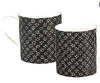 Orval création tasse graphique noire (vendue à l'unité)