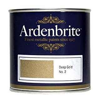 Ardenbrite Metallic Paint 500ml - Deep Gold by Ardenbrite