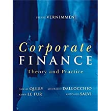 Corporate Finance: Theory & Practice by Pierre Vernimmen (2005-08-12)