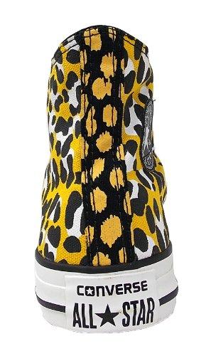 Converse Chuck Taylor All Star Cheetah Hi, Baskets mode femmes Mehrfarbig (Animal Print)