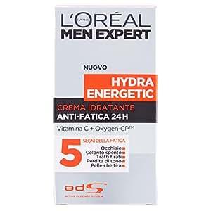 L'Oréal Paris Men Expert Hydra Energetic Crema Idratante Anti-Fatica, 50 ml