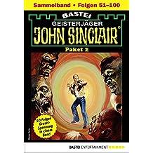 John Sinclair-Paket 2 - Horror-Serie: Folgen 51-100 in einem Sammelband (John Sinclair Staffel)