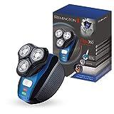 Remington Rotationsrasierer Flex360° XR1400, ergonomisches Deisgn, HyperFlex-Technologie, Nass- und Trockenanwendungen, schwarz/blau