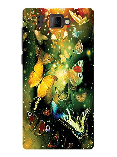TREECASE Designer Printed Soft Silicone Back Case Cover For Panasonic P66 Mega