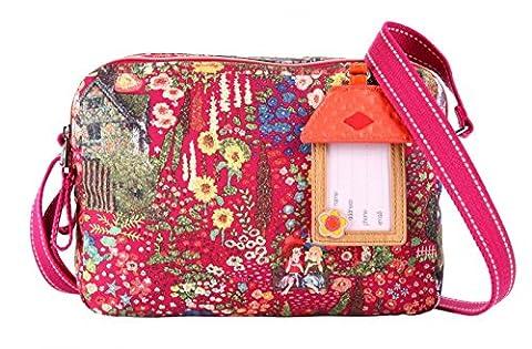 Oilily Cottage S Shoulder Bag Fuchsia (Oilily Kindertasche)