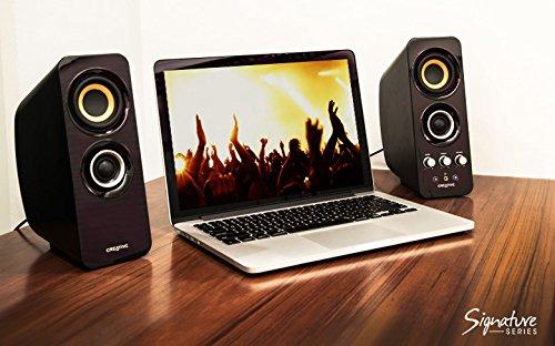 Creative Labs T30 2.0 Lautsprechersystem mit NFC-Funktion schwarz