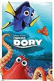 empireposter 740212 Findet Dorie - Finding Dory - Characters - Disney Zeichentrick Animation Film Movie Kino Druck, Papier, mehrfarbig, 91,5 x 61 x 0,14 cm