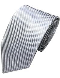 Corbata hombre,Gusspower Hombres Jacquard CláSico Tejido A Rayas Corbata Corbata De Fiesta De La Boda