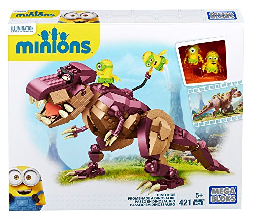 Minions – Dinosaurio 421 piezas, multicolor