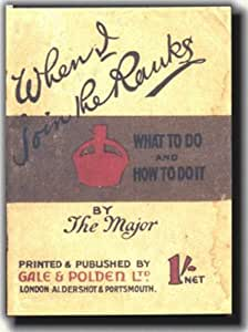 When I join the Ranks - Replica Booklet from World War 1
