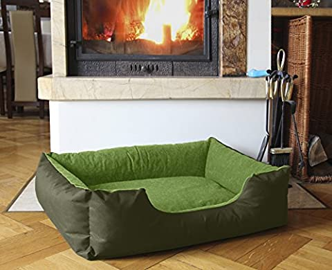 BedDog LUPI ,85x70 cm(33x27 inch),24 colours to choose, Bed for a dog S till XXL, pillow for a dog, sofa for a dog, basket for a dog,