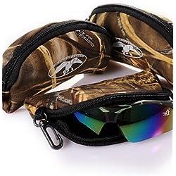 zxc/camuflaje impermeable gafas bolsas para caza/pesca/Camping senderismo