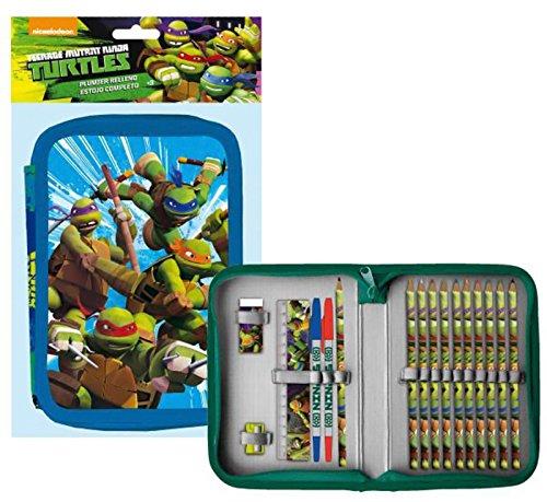 Ninja Turtles-Federmäppchen gefüllt Ninja Turtles (Turtle Gefüllte Ninja)
