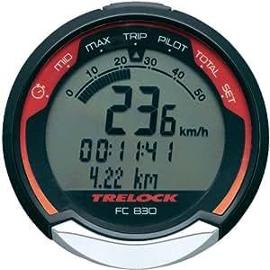 Trelock FC 830 Compteur de vélo sans fil 16 fonctions noir