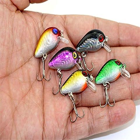 bloomfall pesca 5x Mixed morbido esche Luccio, luccio esche, esche per pesca al luccio, luccio esche Luccio, luccio Spinning