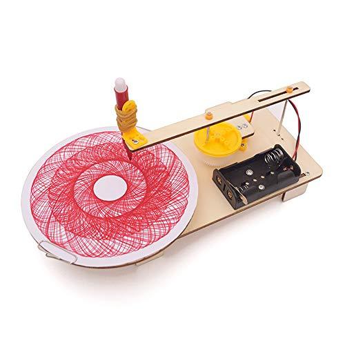 0Miaxudh DIY Modell Toy Kit, DIY Produktion elektrische Plotter Kit physikalisches Experiment pädagogisch, Kid Spielzeug, Geschenk