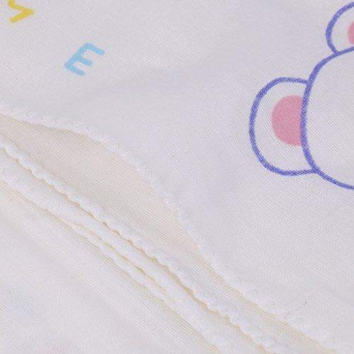 Gazechimp Atmungsaktiv Baby Spucktücher / Pucktücher / Mullwindeln Baumwolle Swaddle 135*63cm