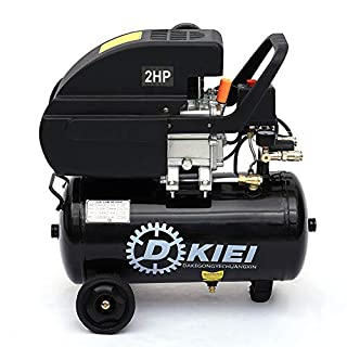 Air Compressor 25 Litre 9.6CFM 2.0HP, Black