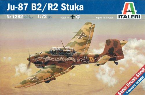 italeri-modellino-aereo-ju-87-b2-r2-stuka-scala-172