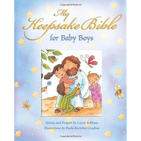 My Keepsake Bible - For Baby Boys (Blue) by Lizzie Ribbons (2012-09-24)