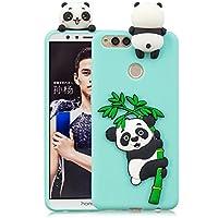 Everainy Huawei Honor 7X Silikon Hülle Ultra Slim 3D Panda Muster Ultradünn Hüllen Handyhülle Gummi Case Huawei... preisvergleich bei billige-tabletten.eu