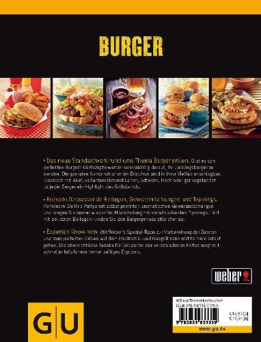 51pYNNxFBFL - Weber's Burger: Die besten Grillrezepte mit und ohne Fleisch (GU Weber's Grillen)