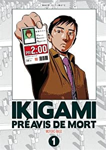 Ikigami Edition double Tome 1