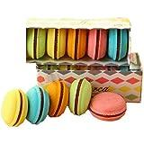 YIXIN Conjunto de 5 La goma plástica Multicolor Macarons de goma Para los alumnos de la escuela de los niños Oficina estacionario