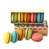 Macaron Radiergummi Set mit 5 Stück Geschenk für Mädchen Kinder