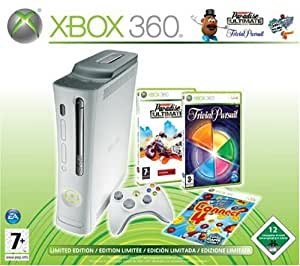 Xbox 360 - Konsole Pro 60 GB inkl. Burnout Paradise Ultimate + Trivial Pursuit
