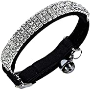 Adjustable Cat & Dog Collar with Bell Rhines