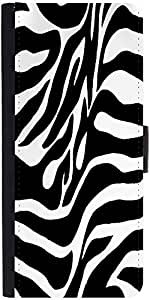 Snoogg Zebra Skindesigner Protective Flip Case Cover For Xiaomi Redmi Note
