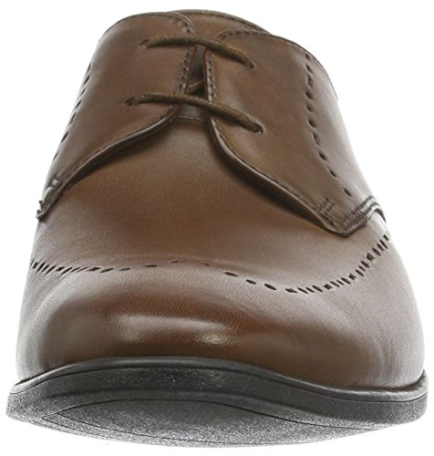 Clarks Bampton Limit, Brogues Homme Marron (Tan Leather)