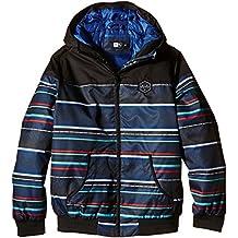 Rip Curl Ethnic Jacket - Chaqueta para niños, color negro, talla 14