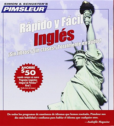 Pimsleur English for Spanish Speakers Quick & Simple Course - Level 1 Lessons 1-8 CD: Learn to Speak and Understand English for Spanish with Pimsleur (Pimsleur Quick and Simple (ESL)) por Pimsleur