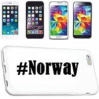 cubierta del teléfono inteligente Samsung S4 Galaxy Hashtag ... #Norway ... en Red Social Diseño caso duro de la cubierta protectora del teléfono Cubre Smart Cover para Samsung Galaxy Smartphone … en blanco ... delgado y hermoso, ese es nuestro hardcase. El caso se fija con un clic en su teléfono inteligente