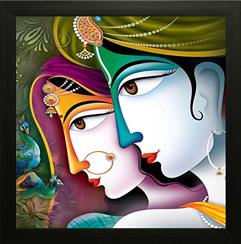 SAF Krishna Painting || Radha krishna painting || Krishna poster || Krishna wall stickers || SAF exclusive Framed Wall Art Paintings for Living room and ...  sc 1 st  Staybuzzy & SAF Krishna Painting || Radha krishna painting || Krishna poster ...