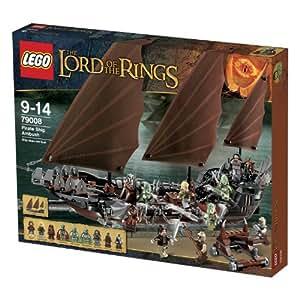 """Lego 79008 - Set """"Signore degli Anelli"""" - Imboscata alla nave dei pirati"""