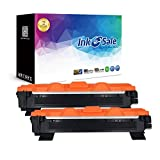 INK E-SALE Compatible Toner Cartridge Replacement for Brother TN1050 for use with Brother DCP-1510 DCP-1612W DCP-1610W DCP-1512 HL-1110 HL-1112 HL-1210W MFC-1910W MFC-1810 - (Black, 2 Pack, 1, 000 Pages)