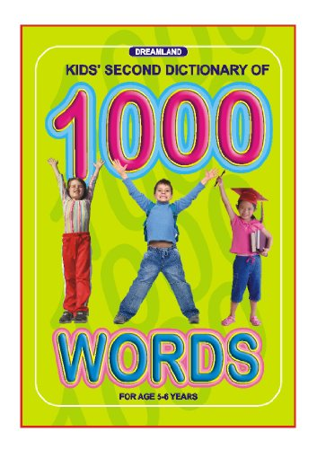 Kids Second Dictionary of 1000 words (English Edition)