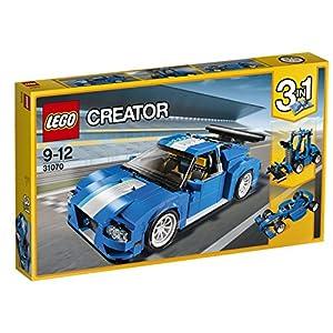 Lego Creator 31070 Auto da Corsa Plastica Multicolore LEGO