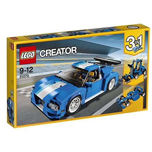 LEGO Creator - Le bolide bleu - 31070 - Jeu de Construction