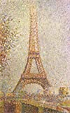 Georges Seurat - The Eiffel Tower Stampa d'Arte (80 x 50cm)