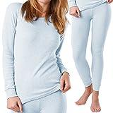 MT® Damen Thermounterwäsche-Set (Hemd & Hose) - warm, weich und atmungsaktiv - in 3 Farben - von celodoro