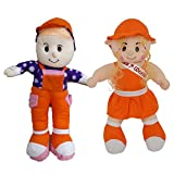#10: Miss World Girl and Smart Boy Combo Stuffed Doll Cute and Beautiful for Kids