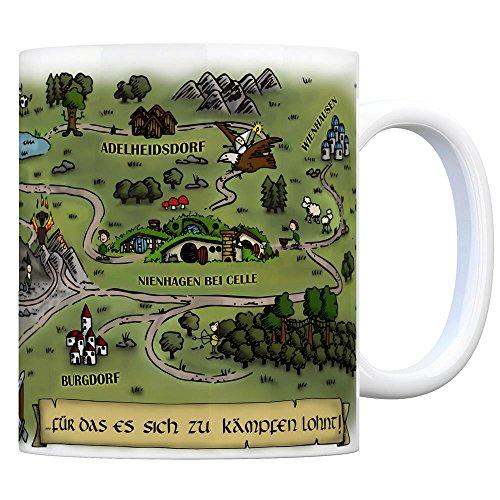 Nienhagen bei Celle Fantasy Kaffeebecher - eine Tasse als Geschenk zum Geburtstag für alle die Rollenspiele lieben! - 2