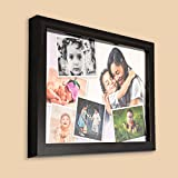 #4: AR Personalized Photo Frames Wall Collage (Black, 8 x 12) : A-102AP