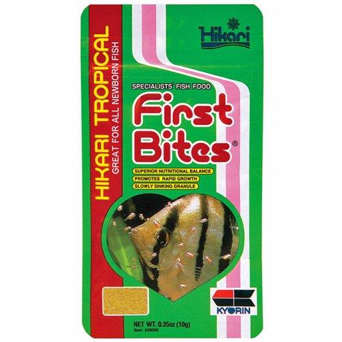 Hikari First Bites Frittierfutter für Haustiere, halboffend, 0,35 Unzen