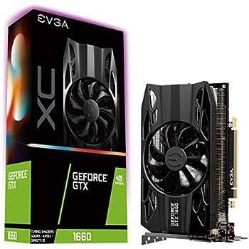 EVGA GeForce GTX 1660 XC Gaming - Tarjeta gráfica 6 GB GDDR5, HDB ...
