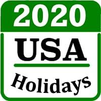 USA holiday calendar 2020